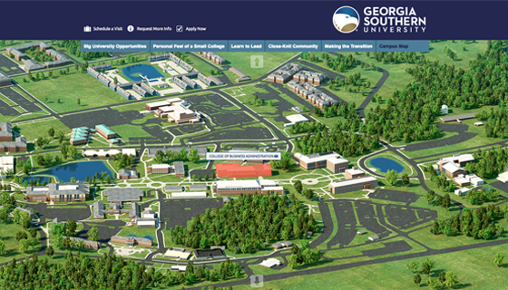 Georgia Southern Campus Map | World Map 07